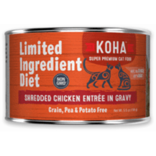 Koha Koha Cat LID Shredded Chicken 5.5oz