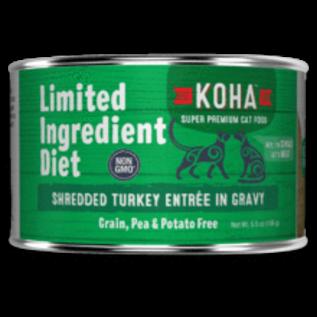 Koha Koha Cat LID Shredded Turkey 5.5oz