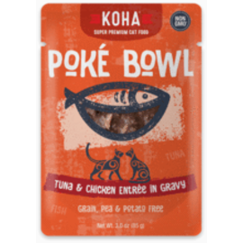 Koha Koha Cat GF Poke Tuna & Chicken Packet 3.0oz