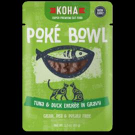 Koha Koha Cat GF Poke Tuna & Duck Packet 3.0oz