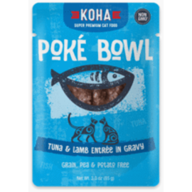 Koha Koha Cat GF Poke Tuna & Lamb Packet 3.0oz