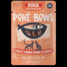 Koha Koha Cat GF Poke Tuna & Salmon Packet 3.0oz