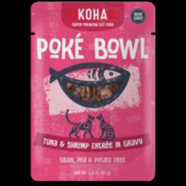 Koha Koha Cat GF Poke Tuna & Shrimp Packer 3.0oz