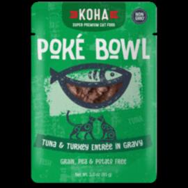 Koha Koha Cat GF Poke Tuna & Turkey Packet 3.0oz
