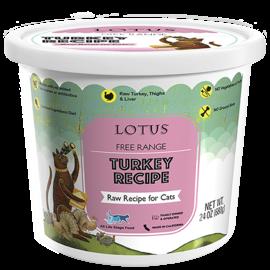 Lotus Lotus Cat Raw Turkey 16oz