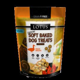 Lotus Lotus Dog Soft Baked GF Duck Treats 10oz