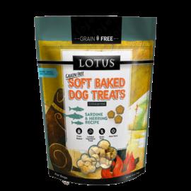 Lotus Lotus Dog Soft Baked GF Sardine Herring Treats 10oz