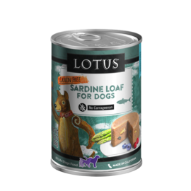 Lotus Lotus Dog GF Sardine Loaf 12.5oz
