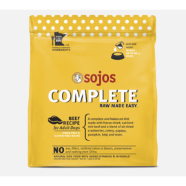 Sojos Sojos Complete Adult Beef Dog 4oz