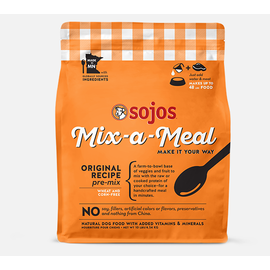 Sojos Sojos Mix-a-Meal Premix Original Dog  2.5#