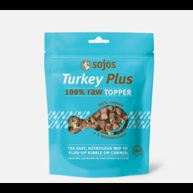 Sojos Sojos Turkey Plus 100% Topper Dog 4oz