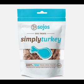 Sojos Sojos Simply Turkey Treat Dog 4oz