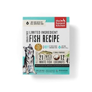 Honest Kitchen Honest Kitchen Dog GF LID Fish & Coconut 4#