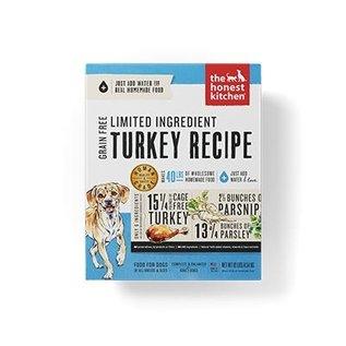 Honest Kitchen Honest Kitchen Dog GF LID Turkey 4#