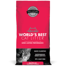 Worlds Best Cat Litter World's Best Cat Litter Multi-Cat(red) 7#
