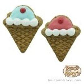 Bosco & Roxy Bosco & Roxy's Flat Ice Cream Cones Cookie