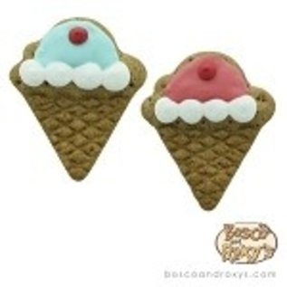 Bosco & Roxy Bosco & Roxy's Flat Ice Cream Cones Cookie