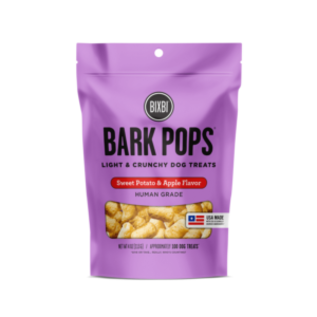 Bixbi Bixbi Bark Pops Sweet Potato & Apple 4oz