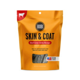 Bixbi Bixbi Skin & Coat Beef Jerky 5oz