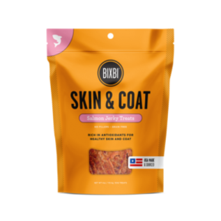 Bixbi Bixbi Skin & Coat Salmon Jerky 5oz