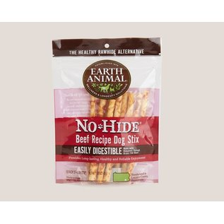 Earth Animal Earth Animal No Hide Beef Stix 10 Pack