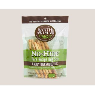 Earth Animal Earth Animal No Hide Pork Stix 10 Pack