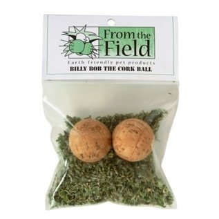 From the Field From The Field 2 Billy Bob the Cork Balls W/ Catnip