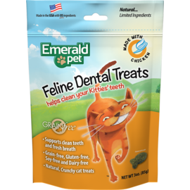 Emerald Pet Emerald Pet Chicken Dental Treats 3oz