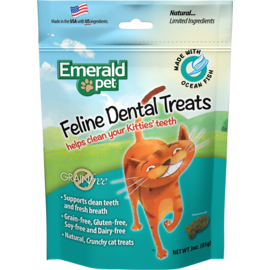 Emerald Pet Emerald Pet Ocean Fish Dental Treats 3oz