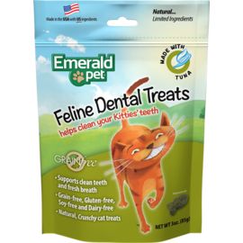Emerald Pet Emerald Pet Tuna Dental Treats 3oz