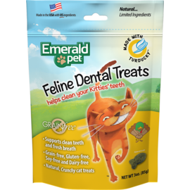 Emerald Pet Emerald Pet Turducky Dental Treats 3oz