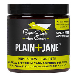 Super Snouts Super Snouts Plain+Jane Chews 30 Count