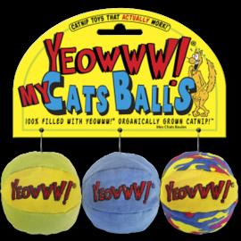Yeoww! Yeowww Catnip Balls