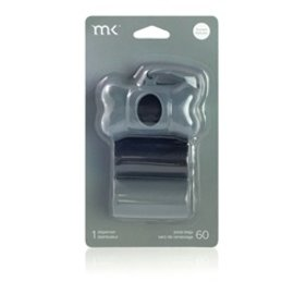Modern Kanine MK Black and Grey Dispenser 60 count