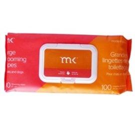 Modern Kanine MK Dog Grooming Wipes Peach 100 count