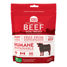 Open Farm Open Farm Dog Dehydrated Beef Treats 4.5oz