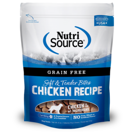 Nutri Source NutriSource Dog GF Chicken Bites 6oz