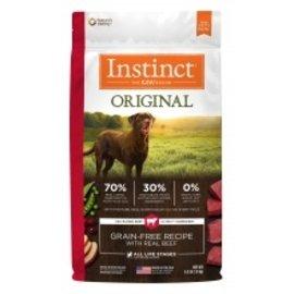 Nature's Variety Natures Variety Instinct Original Beef Dog 20#