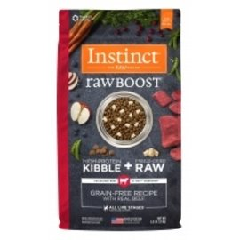 Nature's Variety NV Instinct Raw Boost Beef Dog 20#