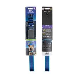 Nite Ize Nite Ize Dog Rechargeable LED Dog Collar - L - Blue/Blue LED