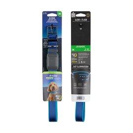 Nite Ize Nite Ize Dog Rechargeable LED Dog Collar - M - Blue/Blue LED