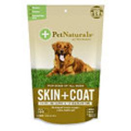 Pet Naturals of Vermont PNV Skin Coat Chew Dog 30ct
