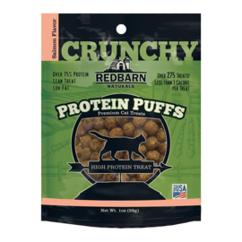 Redbarn Pet Products Redbarn Cat Protein Puffs Salmon 1oz