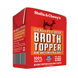 Stella & Chewys Stella & Chewy GF Beef Broth Topper 11oz