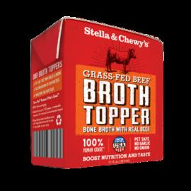 Stella & Chewys Stella & Chewy's Dog Broth Topper Grassfed Beef 11oz