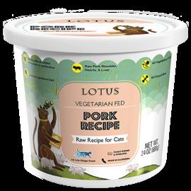 Lotus Lotus Cat Raw Pork 24oz