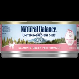 Natural Balance Natural Balance LID Salmon,Green Pea Cat 5.5z