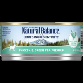 Natural Balance Natural Balance LID Chicken,Green Pea Cat 5.5z