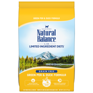 Natural Balance Natural Balance LID Green Pea & Duck Cat 10#