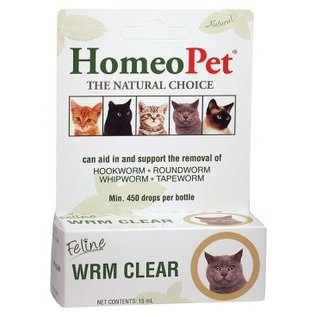 Homeopet Homeopet Worm Clean Feline